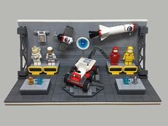 Spqce Museum (lego.insomnia) Tags: lego afol minifigures space museum moc legomoc myowncreation build