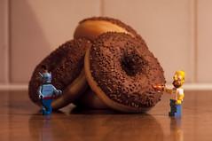 Homer's wish! (Yoann!) Tags: afol lego legography minifigs minifigure minifigurine minifigures toys toy disney genie homer simpson donut wish voeu nikon d90