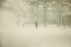 ~Blizzard Conditions~ (cheryl c.) Tags: blizzard newengland bluecoat wind zerovisability ladywalking whyamiout inthehood winter 2017 march snow pleasedontcutthepower throughherlens explored 122