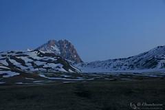 Il risveglio del gigante (EmozionInUnClick - l'Avventuriero's photos) Tags: cornogrande gransasso alba montagna