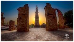 Qutub Minar (Sumit Gulati.Photography) Tags: qutub minar fotofoyer samyang rokinon nikond750 fx fisheye