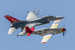 Tuskegee Tribute Flight (4myrrh1) Tags: maxwell 2017 al alabama military classic ww2 wwii aircraft airplane aviation airshow airplanes airport airforce afb