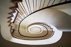 Milky way (Elbmaedchen) Tags: staircase stairs treppenauge treppenhaus roundandround hamburg escaliers geländer kajen