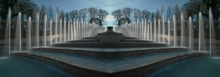 The vanishing fountain