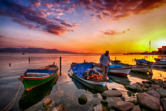 FISHERIES IN THE SARIRAR (COSKUNTUNA ... 1.999.000 ... THANK YOU) Tags: coskuntuna eralpege 2017 turkey türkiye travel red reflection random rainbow bravo eos70d canon70d ege 3e sunset sea sky sun siluet summer x canon clouds colouds view visit beauty beautiful blue bostanli bostanlı boat bird black natura nature life love live landscapes landcapes landscape ksk karsiyaka karsıyaka