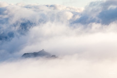 Isle of Tryfan (tristantinn) Tags: wales north tryfan snowdonia glyderau glyder fach mist cloud inversion mountain uk britain spring 2017 nature happiness adam eve landscape