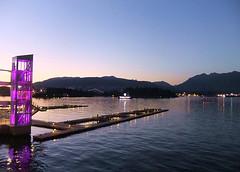 Evening Light (FernShade) Tags: vancouver coalharbour water ocean harbor sea eveninglight reflection