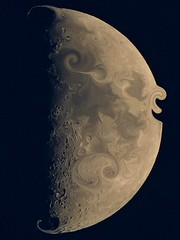 The Man In the Moon (clarkcg photography) Tags: moon modification slide slider manipulation alter change sliderssunday