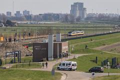 NS SGMm, Hoek van Holland (Dennis te D) Tags: hoekselijn afscheid ret metro ns sgmm hoekvanholland maeslantkering