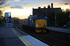 """37423 """"Spirit of the Lakes"""" (Mike_47714) Tags: railway aga ee tractor 37423 drs"""