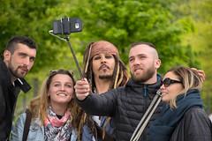 Pirate (cuppyuppycake) Tags: johnny depp pirates caribbean people selfie photo london uk southbank westminster