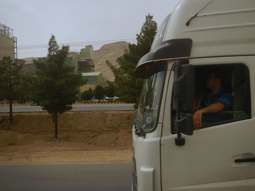 Routier, Route Ispahan -Yazd