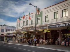The Rose Irish pub, a different view (Man+machine) Tags: napier newzealand artdeco