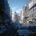Madrid, the Gran Via facing west