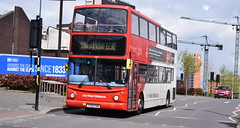 National Express West Midlands Dennis Trident/Alexander ALX400, 4130 (paulburr73) Tags: 4130 y722toh dennis trident alexander alx400 birmingham nxwm nationalexpress westmidlands 2017 may service63 63e longbridge midlands bc birminghamcentral walsall moorstreet queensway city