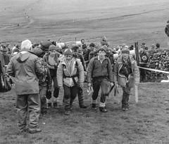 Tregantle Wanderers 1987 (Marklucylockett) Tags: dartmoor tentors tregantlewanderers 1987 devon blackandwhite torpointschooldartmoorexpeditiongroup torpointschool