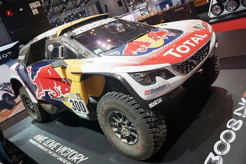 Peugeot 3008 DKR... we love victory !
