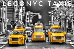 LEGONYC (sponki25) Tags: lego art nyc new york city legonyc taxis yellow cabs