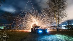 Porsche Boxter GTS (AJ.S PHOTOGRAPHY) Tags: porsche boxter boxtergts gts porscheboxter stockholm steelwool steek steel wool longexposure sweden