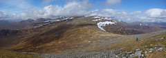 The Eastern Fannichs ([ Jaso ]) Tags: highlands mountains munro scotland landscape walker hiking mountain rx100 sony snow winter panoramic pano