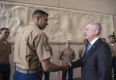 170419-D-GO396-0028 (Secretary of Defense) Tags: secdef defense secretary jamesmattis james mattis pentagon brigittebrantley jimmattis chaos dod military departmentofdefense travel oconus overseas saudiarabia middleeast riyadh sau