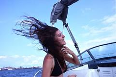 Flip (rachelather) Tags: windy boat hairflip flip hair