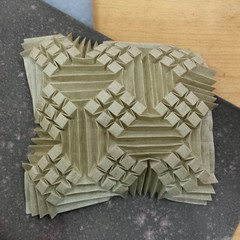 Imperial Nine (Dasssa) Tags: origami paper paperain tessellation paperfolding ilangaribi elephanthide