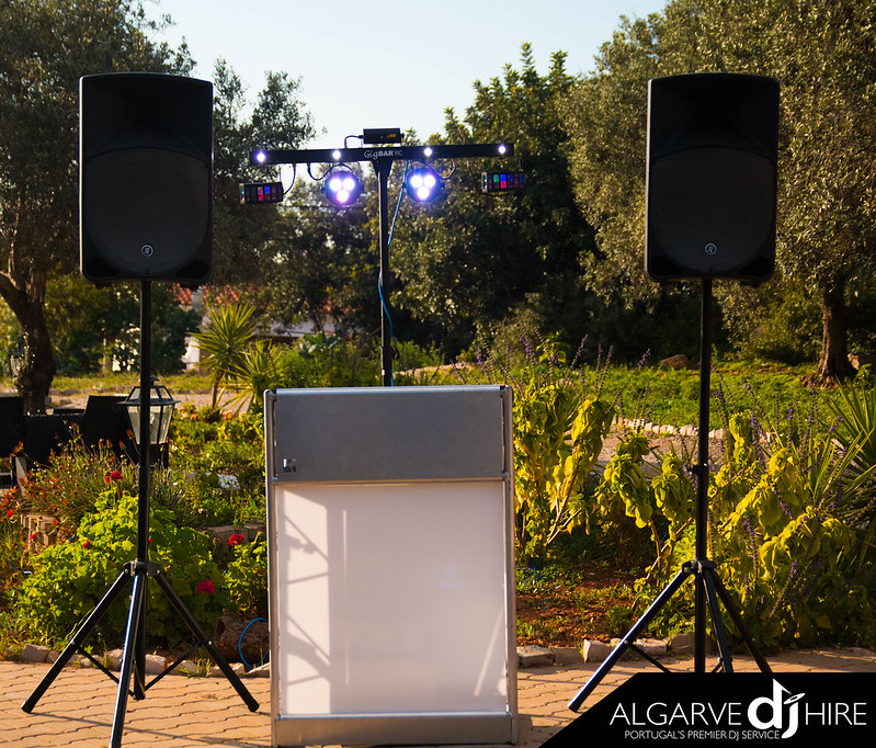 Small PA Hire Package with Lighting