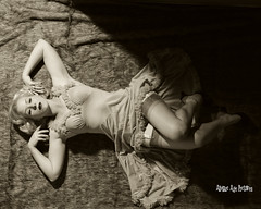 _MG_9852 (Atomic Age Pictures) Tags: jitterbugdoll amandalee atomicagepictures 1940s 1950s stockings legs sexylegs seethrough noir blackandwhite merry widow georgehurrell