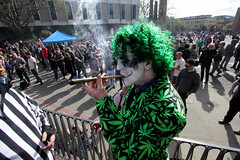 the Green-Haired Freak - Four20 Victoria 2017 (professional recreationalist) Tags: brucedean professionalrecreationalist victoriabc 420 victoria 2017 marijuana cannabis maryjane weed legalize leaf stogie blunt smoke thegreenhairedfreak