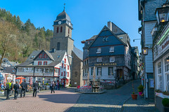 Monschau. Germany (Zinaida Belaniuk) Tags: monschau germany town spring