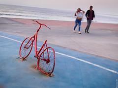 Conversaciones... (Ricardo SB) Tags: bicycle bicicleta couple pareja