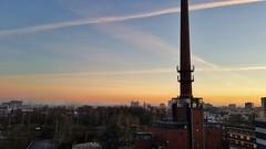 Essen in the morning (Michael Schönborn) Tags: samsung s6 essen germany skyline sky clouds