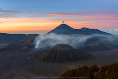 Breath of the Volcanoes (KRW_GNS) Tags: bromo volcano mountain landscape morning sunrise travel destination nature indonesia patok landmark viewpoint semeru sea sand mist asia beautiful attraction twilight