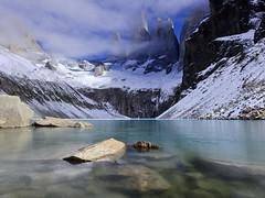 Torres del Paine (Mono Andes) Tags: torresdelpaine patagonia chile laguna invierno parquenacional parquenacionaltorresdelpaine