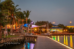 Waterfront View (tclaud2002) Tags: waterfront water river st lucieriver downton stuart florida landscape seascapecityscape lights reflection outdoors outside usa trees palms palm tree
