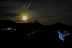 Moon Rise, Joshua Tree, CA (punahou77) Tags: joshuatreelakervandcampground joshuatreenationalpark joshuatree california clouds camping moon fullmoon tents nikond500 landscape moonrise stevejordan silhouette punahou77