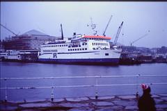 Ferry, Helsingborg (TureBlådåre) Tags: film analog helsingborg knutpunkten ursula sfl