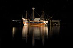 To Arrive Where We Started (karenhunnicutt) Tags: ship manteo roanokeisland elizabethii thelostcolony northcarolina night karenhunnicuttphotographycom karenhunnicutt fineartphotographer atlanticocean