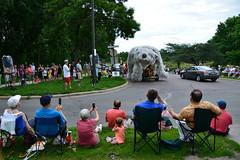 2015 Art Car Parade (schwerdf) Tags: artcarparade artshanties lakeharriet minneapolis minneapolisartcarparade minnesota pedalbearartshanty unitedstates