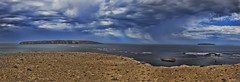 Australia - A View At Coffin Bay National Park (Shedraway Photos) Tags: clouds rains bluesky showers outdoor sand cravle islands water ocean sea waves coffinbay australia