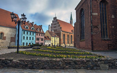 Old Riga (Fil.ippo) Tags: riga latvia lettonia oldtown historical center cityscape building house colors filippo filippobianchi d610 travel