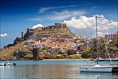 castelsardo (heavenuphere) Tags: castelsardo sassari sardegna sardinia sardinie italia italy europe island landscape harbour marina sailing boat water 24105mm