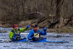 Nr. 45 (BlizzardFoto) Tags: türitorikiirlaskumine the8thtüritoridownriverrace türitori kiirlaskumine downriverrace kanuu canoe kajakk kayak river jõgi võistlus race kevad spring vesi water