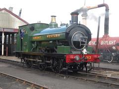 IMG_4711 - GWR Hudswell Clarke Saddle Tank 813 (SVREnthusiast) Tags: didcotrailwaycentre didcot railway centre gwrhudswellclarkesaddletank813 gwr hudswellclarke saddletank 813