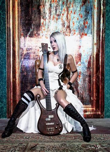 Anaise Noire 💋 #steampunk 🎸 🎩 #cyberpunk #rock #singer #alternative  #metal #elettritv #live 🙌 #musica #concerti #italy #dalvivo #cantante #sottosuolo #poisongarden #rome #underground #roma #tibervalley #italia📷 ] ;)
