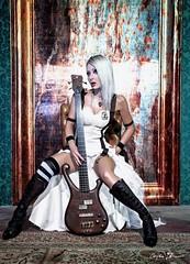Anaise Noire 💋 #steampunk 🎸 🎩 #cyberpunk #rock #singer #alternative  #metal #elettritv #live 🙌 #musica #concerti #italy #dalvivo #cantante #sottosuolo #poisongarden #rome #underground #roma #tibervalley #italia📷 ] ;) (ElettRisonanTi) Tags: cantante elettritv poisongarden musica italy roma live alternative steampunk metal cyberpunk tibervalley underground sottosuolo rome rock dalvivo concerti italia singer