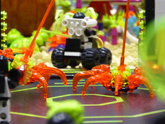 Space Spiders (Brett-Tron) Tags: blacktron monorail moc lego alien flower landscape spaceflowers spaceweeds spacelandscape alienworld spaceplants mtron battle