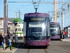 North Pier Trams (deltrems) Tags: blackpool transport tram tramway tramcar balloon flexity bombardier promenade lancashire fylde coast