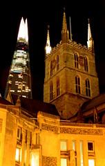 The two towers (m5cjk) Tags: m5cjk visitlondon londonbynight londoncity